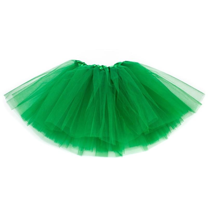 b9f130ae Klasyczna Spódnica tiulowa TUTU zielona