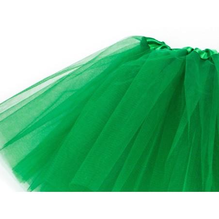 Klasyczna Spódnica tiulowa TUTU zielona